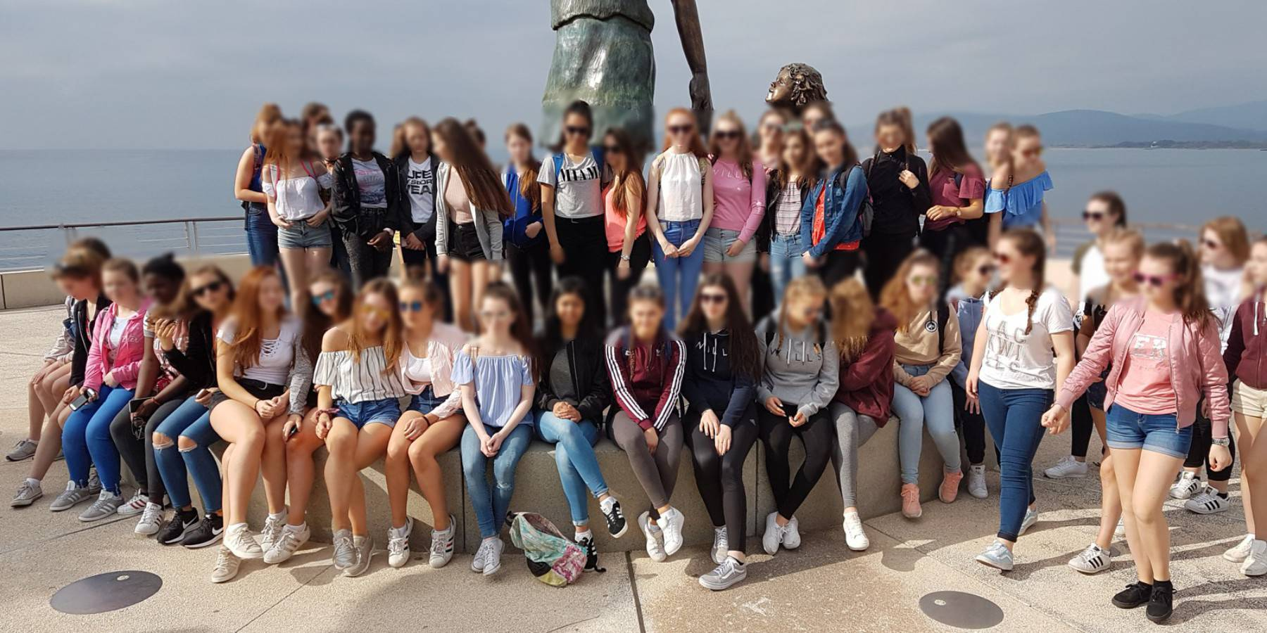 Teenagers in Saint-Raphaël