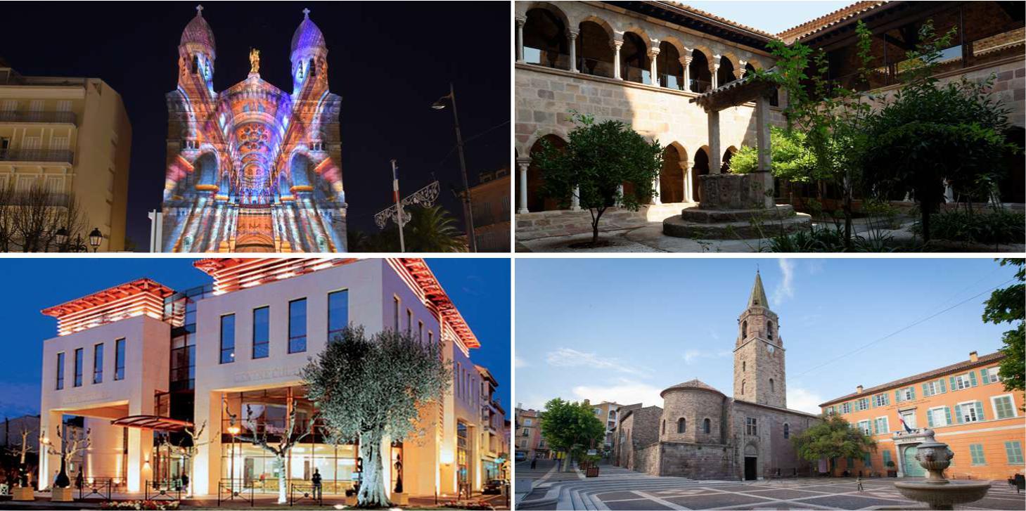 Saint-Raphaël, a cultural town